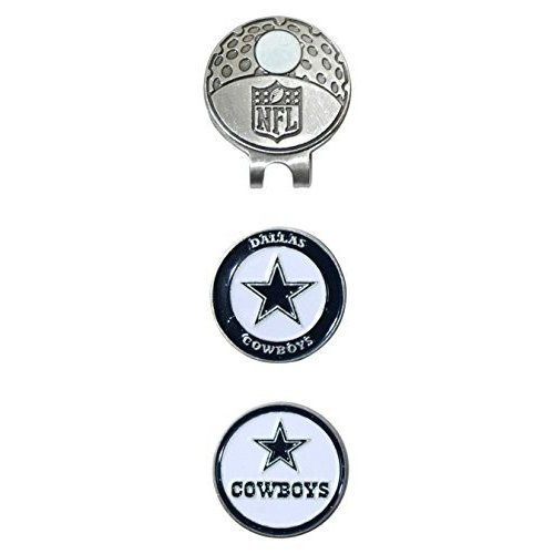 Team Golf NFL Dallas Cowboys Golf Cap Clip with 2 Removable Double-Sid
