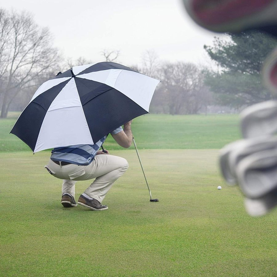 62 Inch Golf Umbrella (青, 1-Pack) Sun Umbrella Sports Umbrella Shad