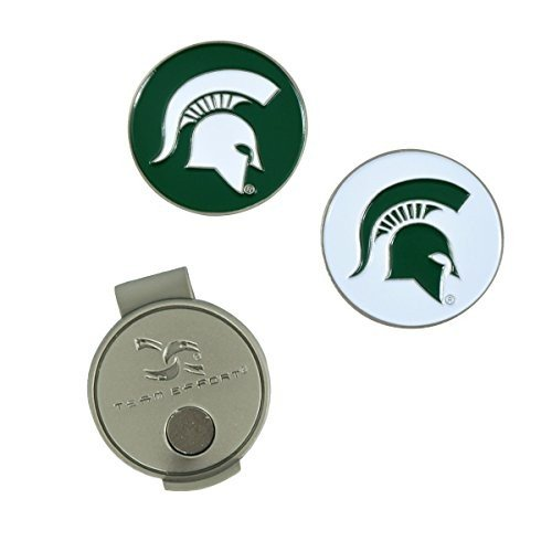 Team Effort Michigan State Spartans Hat Clip & 2 Ball Markers