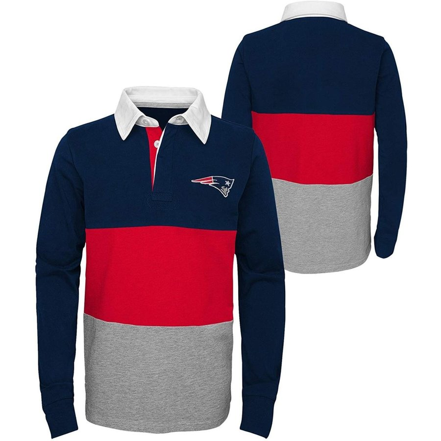 Outerstuff NFL New England Patriots Youth Boys State of Mind Long Slee