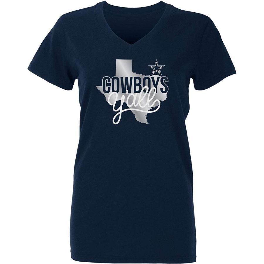NFL Dallas Cowboys Womens Kit T-shirt, XX-Large, Navy