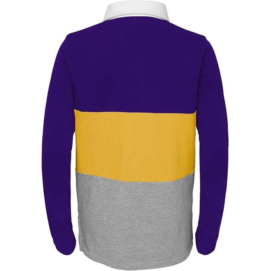Outerstuff NFL Minnesota Vikings Youth Boys State of Mind Long Sleeve