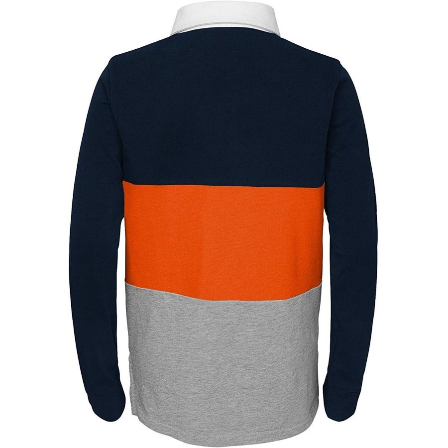 Outerstuff NFL Chicago Bears Youth Boys State of Mind Long Sleeve Rugb