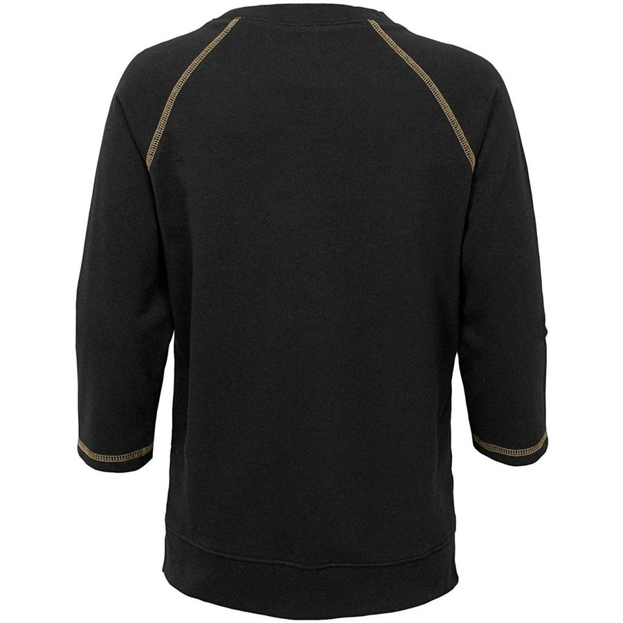 NFL New Orleans Saints Youth Boys Overthrow' Pullover Top Black, Youth