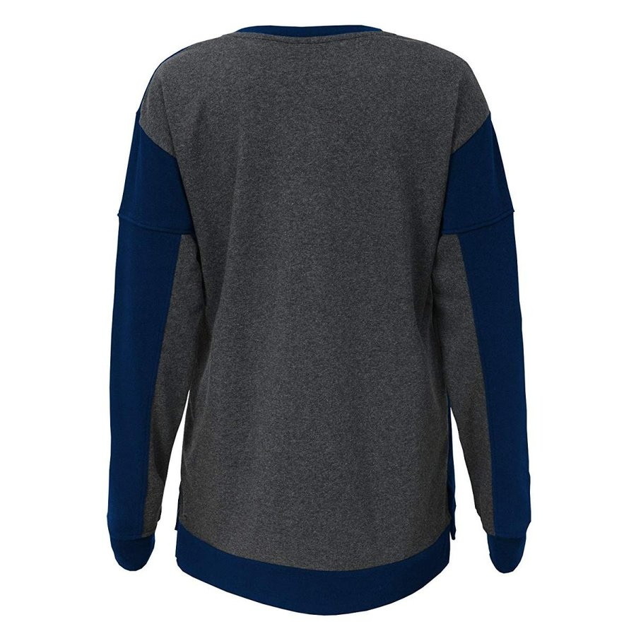Outerstuff NFL Denver Broncos Youth Boys in The Mix Long Sleeve Crew N