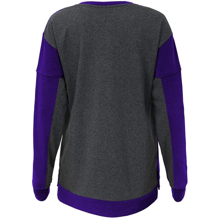 Outerstuff NFL Minnesota Vikings Youth Boys in The Mix Long Sleeve Cre