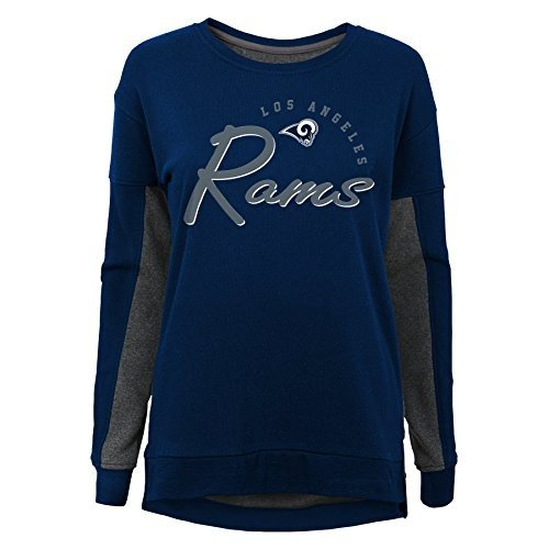 Outerstuff NFL Los Angeles Rams Youth Boys in The Mix Long Sleeve Crew