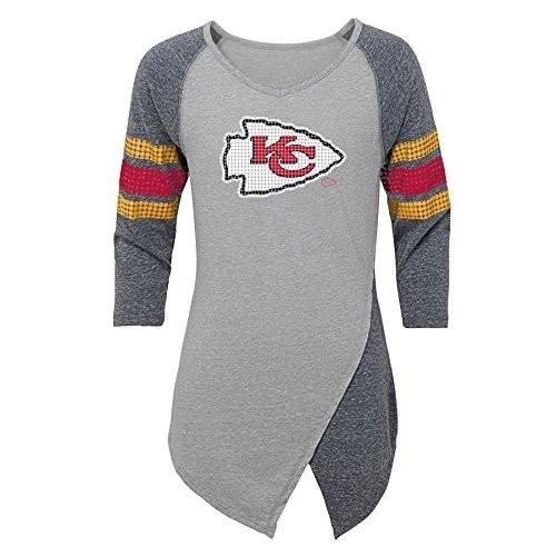 Outerstuff NFL Kansas City Chiefs Juniors Lavish Crossover Asymmetric