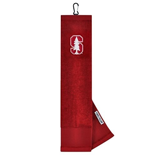 Stanford Cardinal Face/Club Embroide赤 Towel
