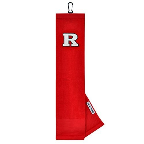 Rutgers Scarlet Knights Face/Club Embroide赤 Towel