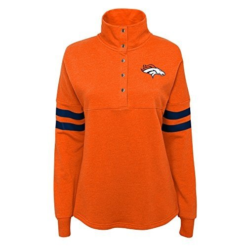Outerstuff NFL NFL Denver Broncos Juniors Classic Throw Varsity 1/4 Sn