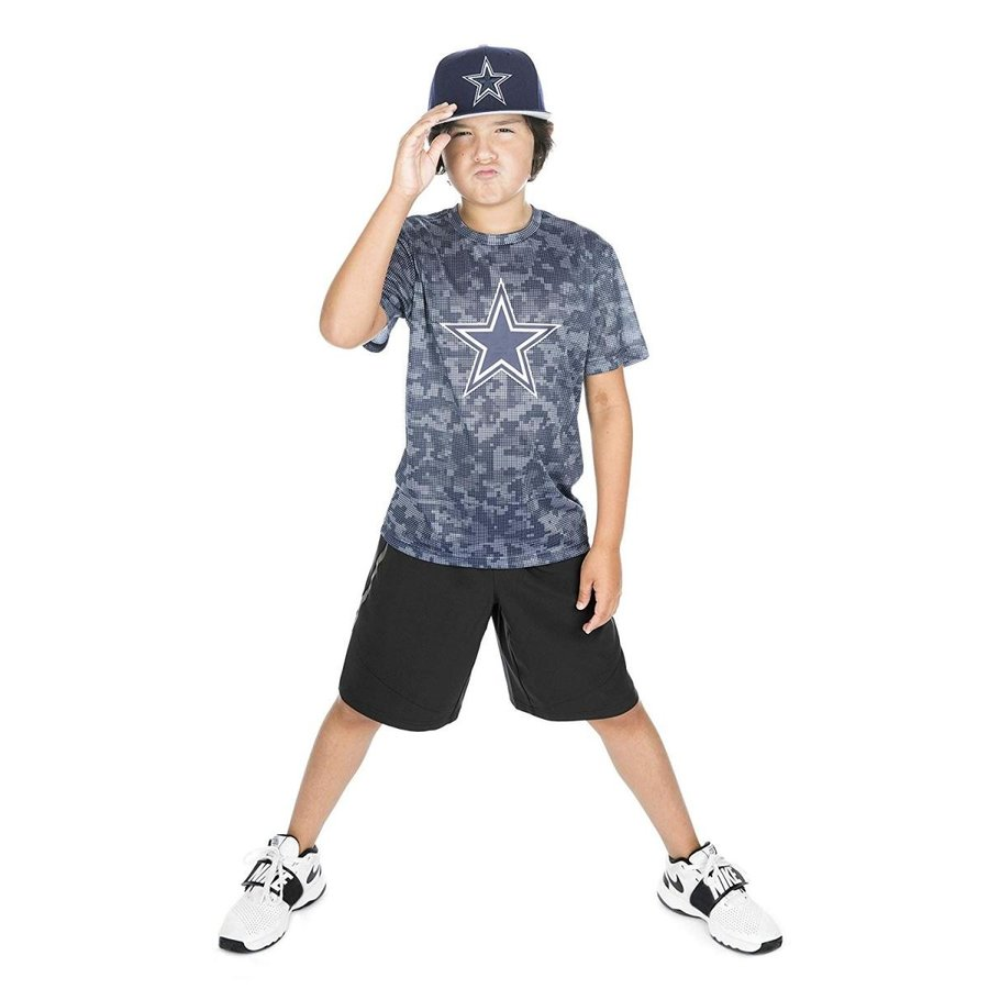 NFL Dallas Cowboys Youth Tedwin Tee, Large, Navy