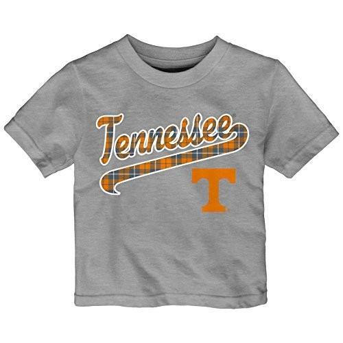 Outerstuff NCAA Tennessee Volunteers Toddler Flannel Script Short Slee