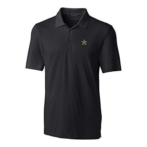Cutter NCAA Vanderbilt Commodores Short Sleeve Solid Forge Polo, 3X-La