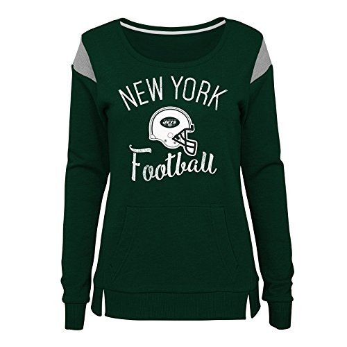 Outerstuff NFL NFL New York Jets Juniors Classic Crew French Terry Pul