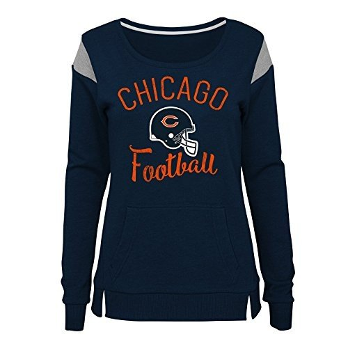 Outerstuff NFL NFL Chicago Bears Juniors Classic Crew French Terry Pul