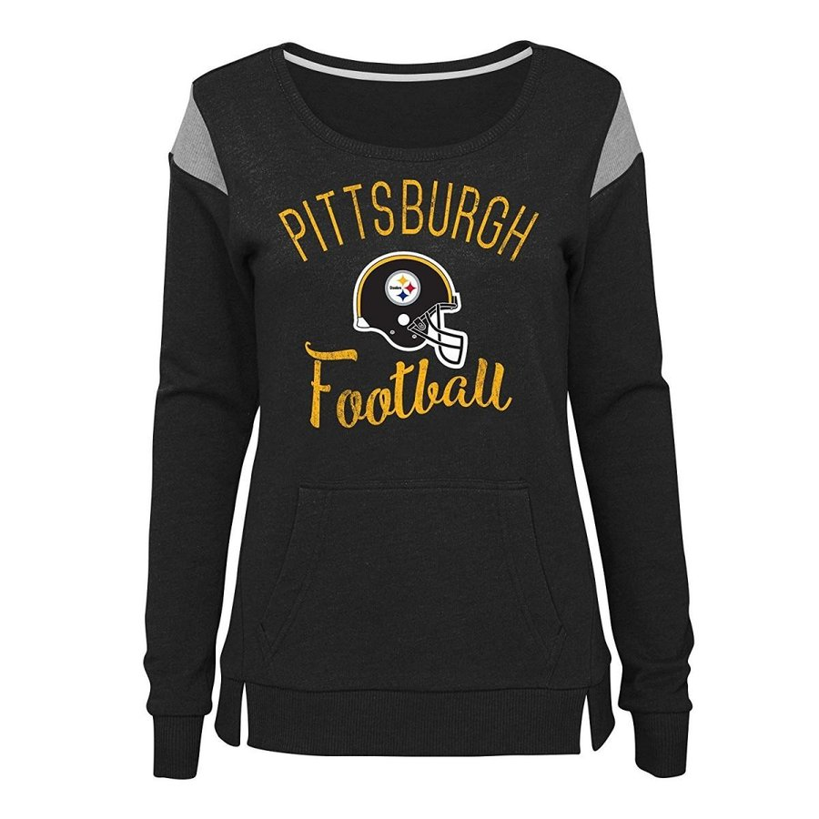 Outerstuff NFL NFL Pittsburgh Steelers Juniors Classic Crew French Ter
