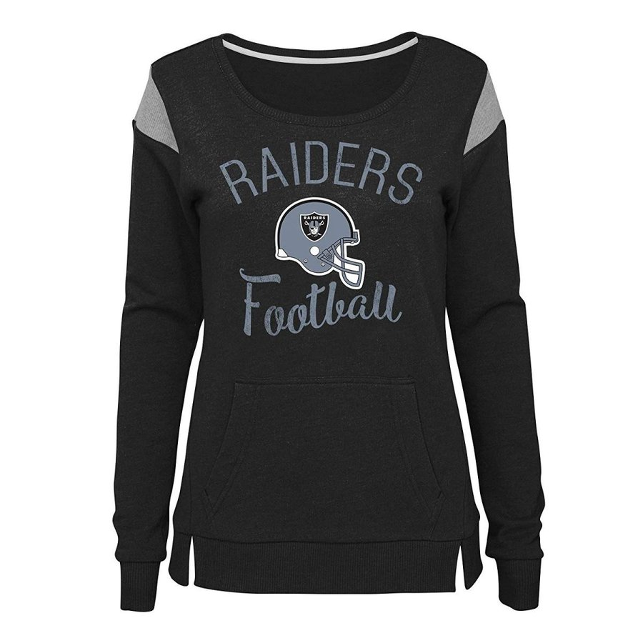 Outerstuff NFL NFL Oakland Raiders Juniors Classic Crew French Terry P