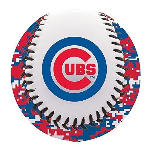 Franklin Sports Chicago Cubs Baseball Teeball - Soft Strike - Digi Cam