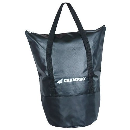 Champro Deluxe Ball Bag (黒, 9 x 15/X-Large)