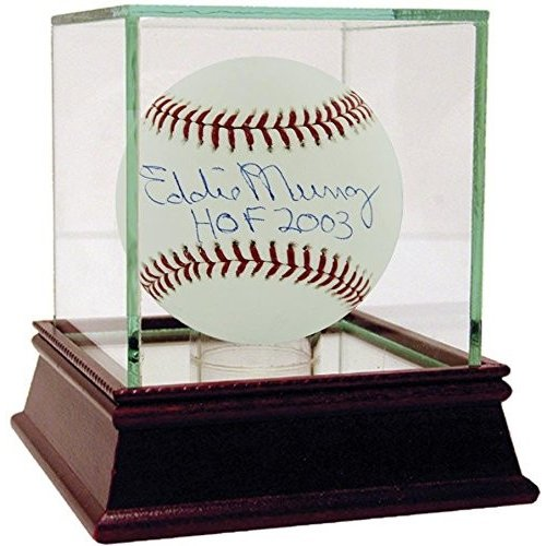 Steiner Sports MLB Baltimore Orioles Eddie Murray Baseball with HOF In