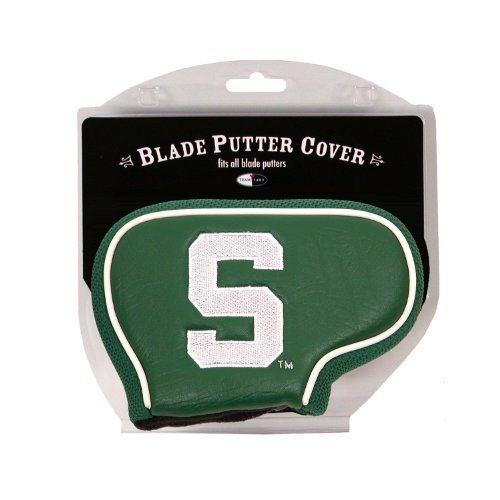 Team Golf NCAA Michigan State Spartans Golf Club Blade Putter Headcove