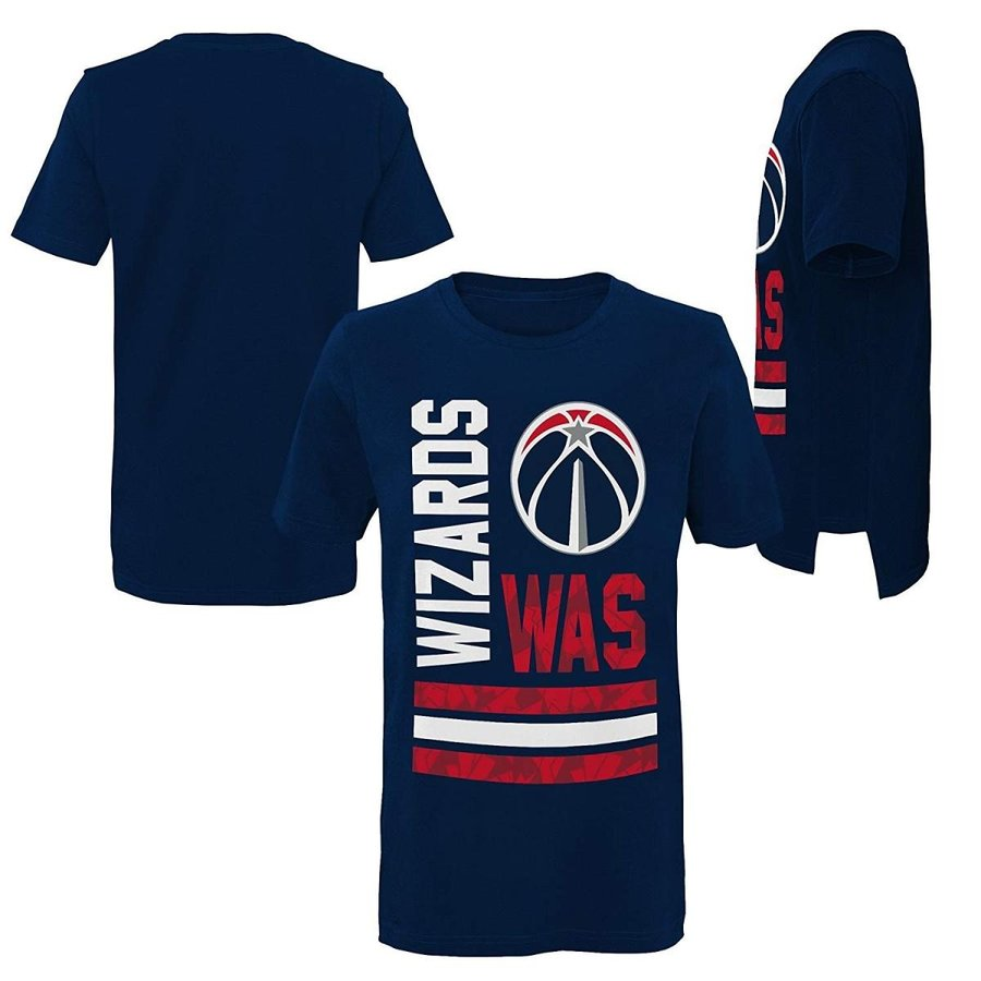 Outerstuff NBA NBA Youth Boys Washington Wizards Shatte赤 Short Sleev