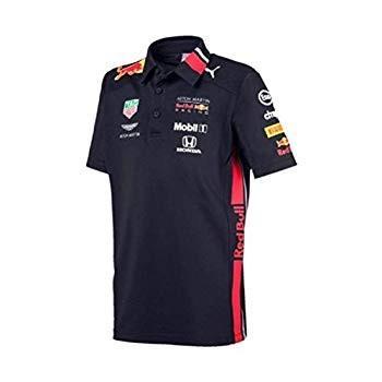 赤 Bull Racing 2019 F1 Kid's Team Polo Shirt (9-10 Years)