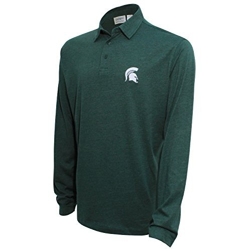 NCAA Michigan State Spartans Men's Campus Specialties Long Sleeve Polo