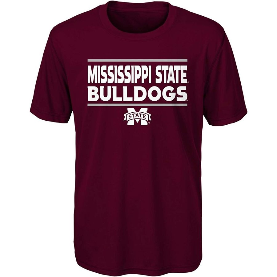 Outerstuff NCAA Mississippi State Bulldogs Youth Boys Short Sleeve Per
