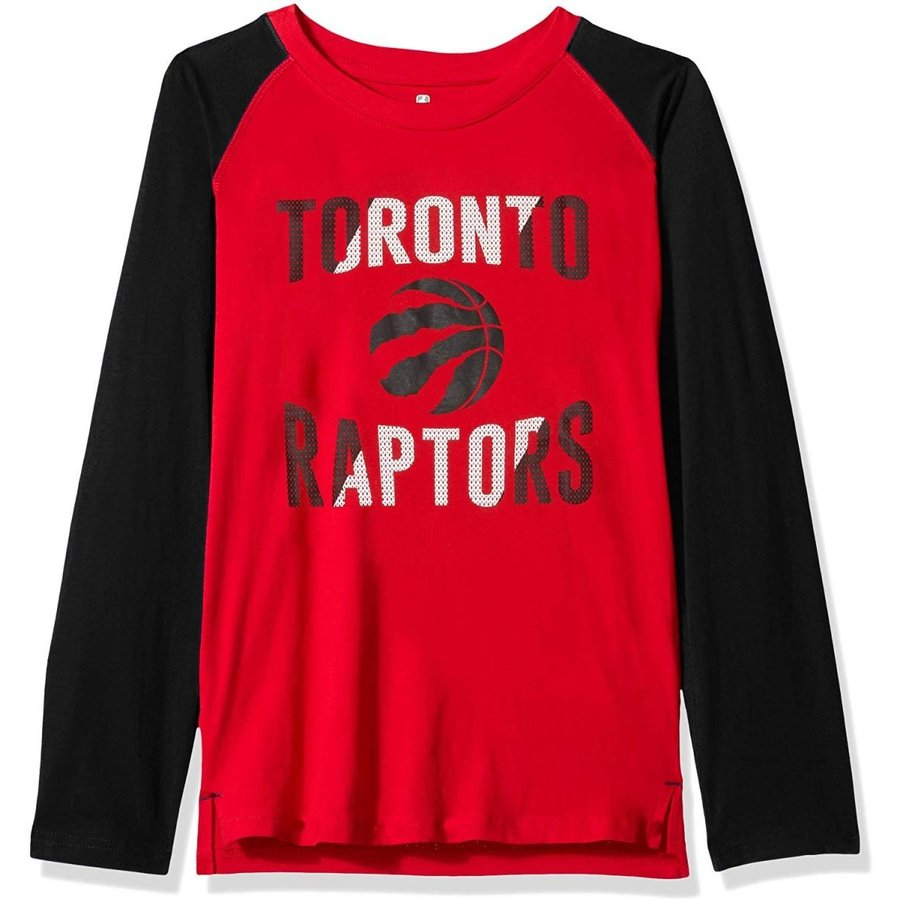 Outerstuff NBA NBA Youth Boys Toronto Raptors Free Throw Long Sleeve F