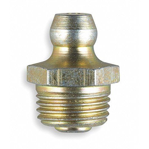 Grease Fitting, Str, 1/8-28, PK10