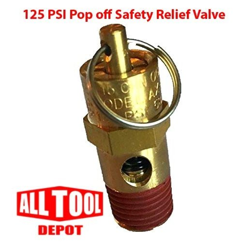 Control Devices ST Series Brass ASME Safety Valve 1/4