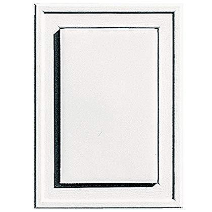 Builders Edge 130130001117 Mounting Block, Bright 白い