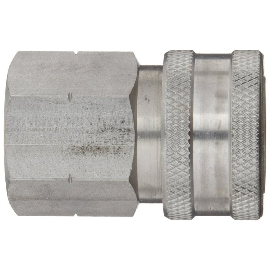 Dixon STFC4SS Stainless Steel 303 Hydraulic Quick-Connect Fitting, Cou
