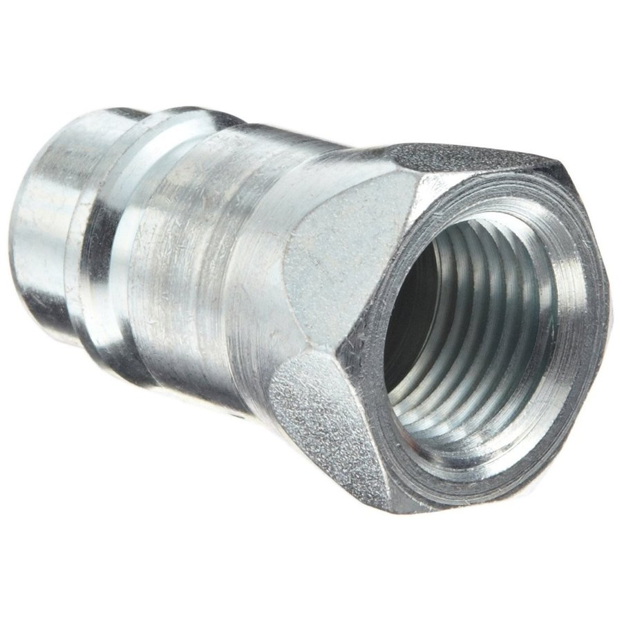 Dixon 19-400 Steel Agricultural Hydraulic Quick-Connect Plug with Shut
