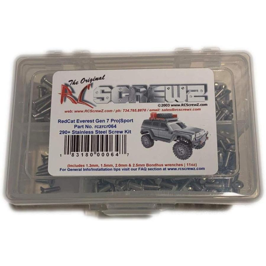 RCScrewZ 赤Cat Racing Everest Gen 7 Pro | Sport Stainless Steel Screw
