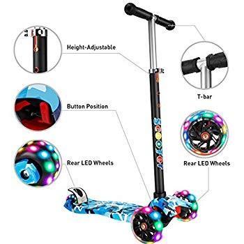 気質アップ AMHoome Scooter for Kids Toddlers - Kids Detachable - Height-Adjustable, Toddlers Thre, クスバシハクイ:ddeaa2e8 --- sonpurmela.online