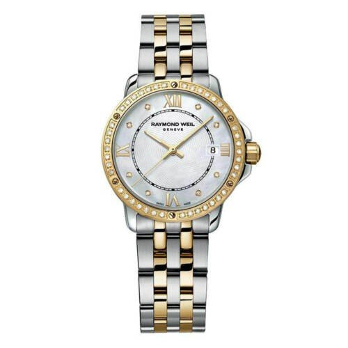 【国内正規品】 腕時計 レイモンドウイル レディース レディース Raymond Weil 5391-SPS-00995 Tone Women's Tango Weil Two Tone Diamond Watch, アワラ市:3134a661 --- airmodconsu.dominiotemporario.com