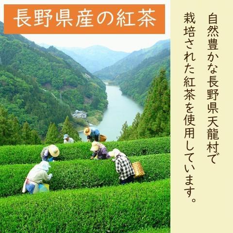 紅茶 ティーバッグ 国産 アップルティー 和紅茶 乾燥りんご 無添加 2袋セット|lf-shop|12