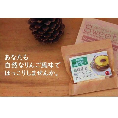 紅茶 ティーバッグ 国産 アップルティー 和紅茶 乾燥りんご 無添加 2袋セット|lf-shop|15