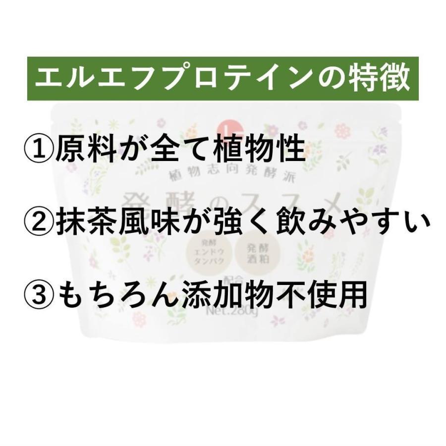 プロテイン 女性 美容 植物性 ピープロテイン 酒粕 抹茶 発酵のススメ 香料不使用|lf-shop|10