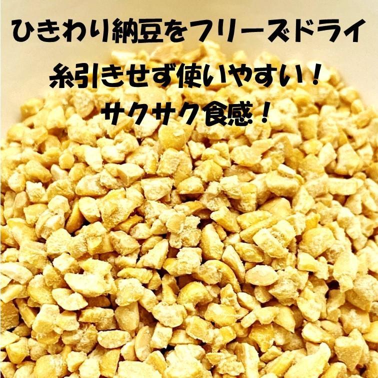 乾燥納豆 100g ドライ納豆 国産 フリーズドライ ひきわり納豆 lf-shop 06
