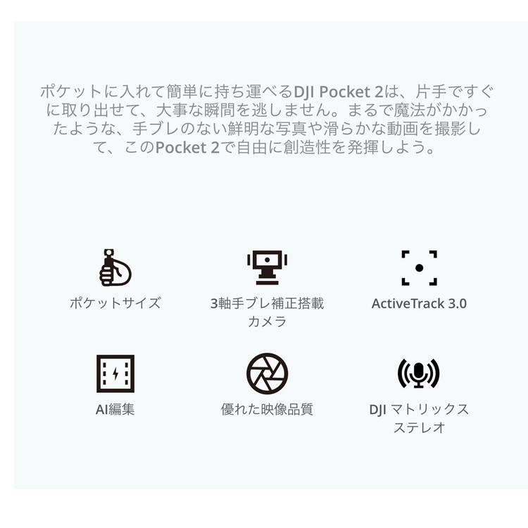 DJI Pocket2 オスモポケット2 3軸スタビライザー ジンバル ハンドヘルドカメラ スマホ iPhone コンパクト 手持ちプロ 正規品|lfs|08