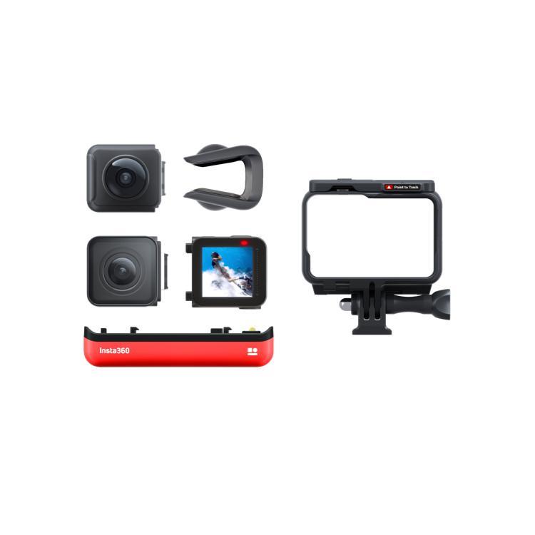 Insta360 ONE R ツイン版(ONE R コア+360度モジュール+4K広角モジュール) 360度アクションカメラ 5.7K 360度全天球 4K広角高画質撮影 FlowState 手ブレ補正|lfs|21