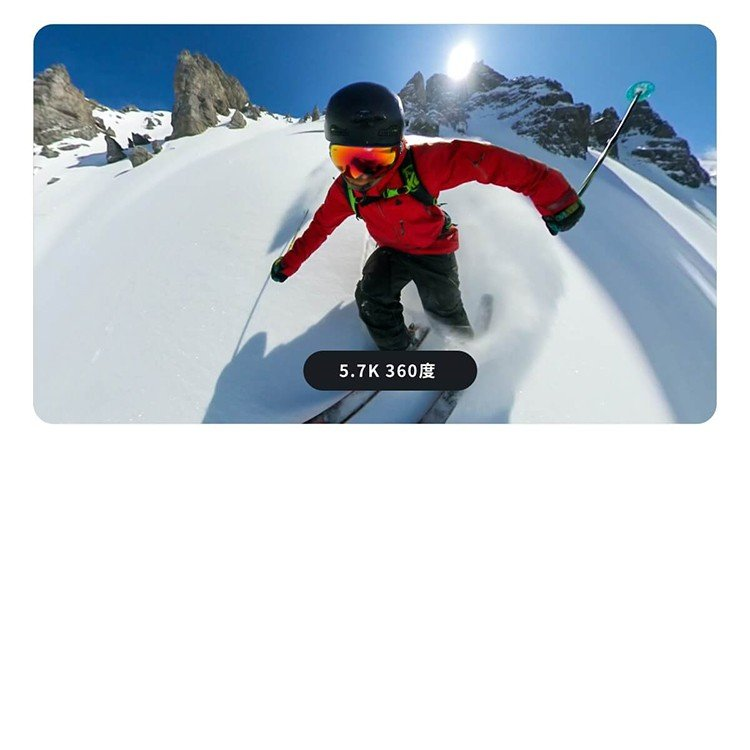 Insta360 ONE R ツイン版(ONE R コア+360度モジュール+4K広角モジュール) 360度アクションカメラ 5.7K 360度全天球 4K広角高画質撮影 FlowState 手ブレ補正|lfs|04