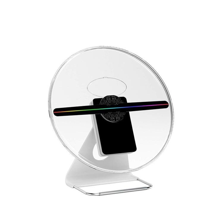 2019 3D hologramer LEDモニター 最新広告 3D映像 ディスプレイ 立体映像 広告ディスプレイ 3Dホログラム プロジェクター デジタルサイレージ LEDファン|lfs|17