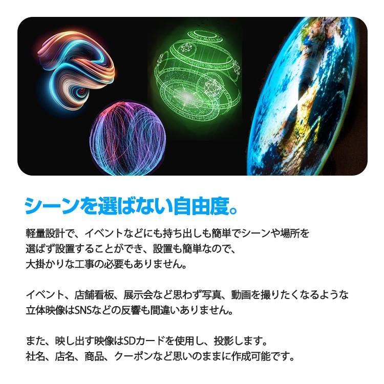 2019 3D hologramer LEDモニター 最新広告 3D映像 ディスプレイ 立体映像 広告ディスプレイ 3Dホログラム プロジェクター デジタルサイレージ LEDファン|lfs|05