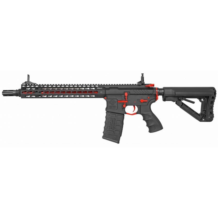 G&G ARMAMENT CM16 SRXL 赤 Edition ブラック/レッド EGC-16P-SXL-RNB-NCS