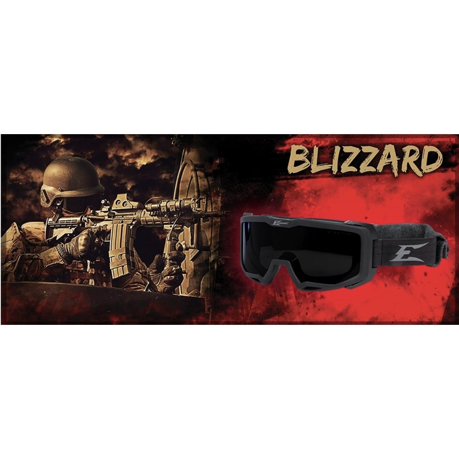 HB611 EDGE TACTICAL EYEWEAR BLIZZARD GOGGLE with LENS KIT